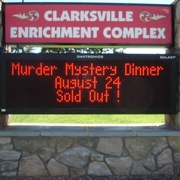 Clarksville Dinner Theater Sold Out